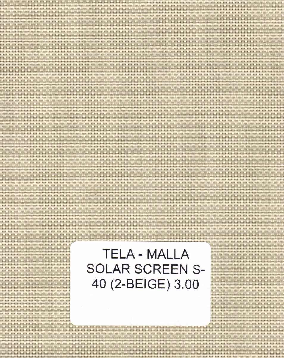 Persiana Enrollable Screen Malla Solar Marca Viu 429 00 En  # Muebles Viu Recamaras