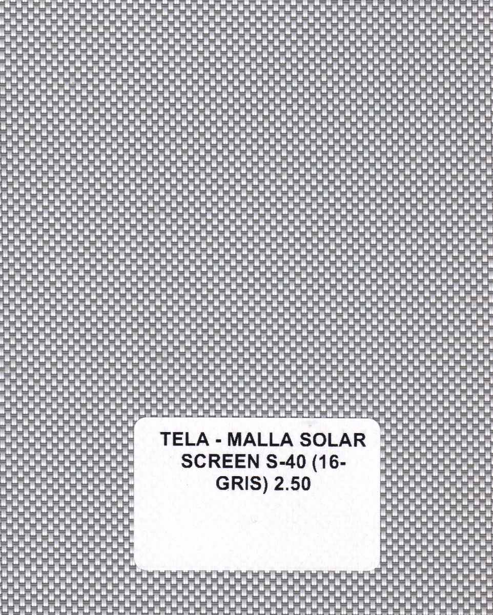 Persiana Enrollable Screen Malla Solar Marca Viu 429 00 En  # Muebles Viu Recamaras
