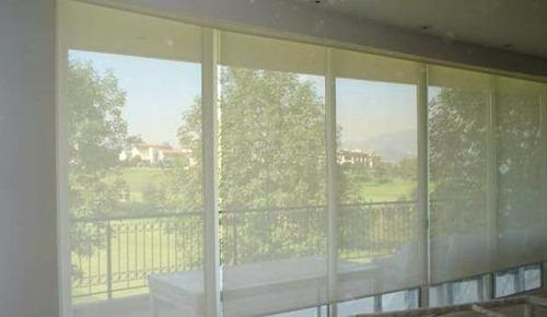Persiana enrollable screen malla solar promoci n 399 for Persianas para terrazas