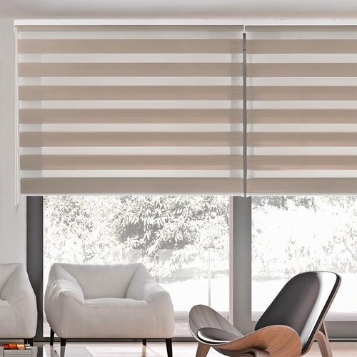 persiana enrollable sheer elegance 120x250cm instala fácil