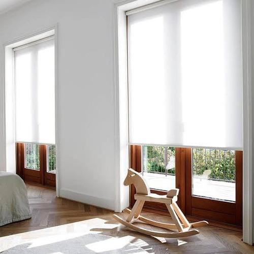 persiana enrollable traslúcida calidad instalación, garantía
