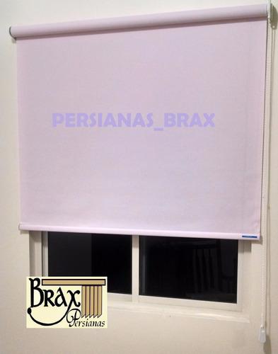 persiana enrollable traslúcida color lila american blinds