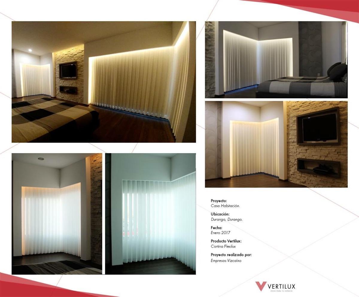 Persiana Flexilux Cortina Elegante Y Exclusiva 3500 M2  # Muebles Vizcaino Durango