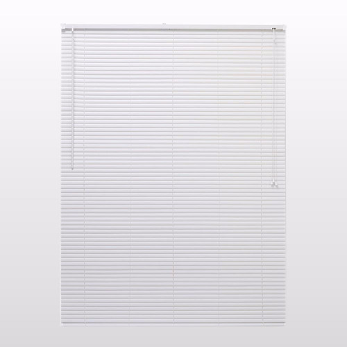 persiana horizontal pvc 25mm cortina 120 x 163 cm branca