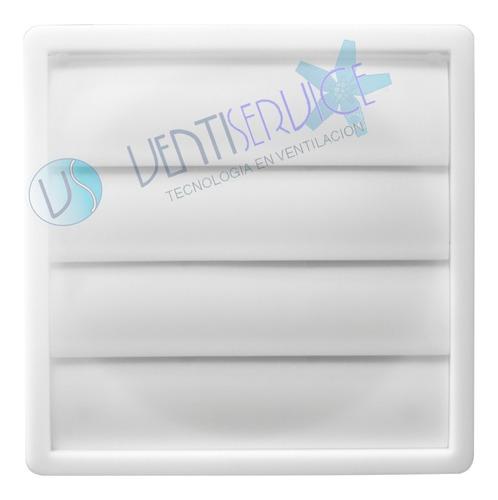 persiana movil pvc extractor de aire ø 15 cm cocinas baños