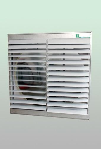 persiana para ventilador móvil pvc extractor 0,7mx0,7m pared