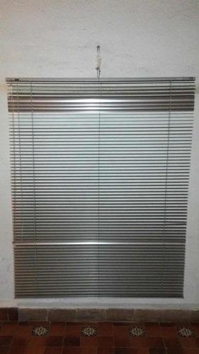 persiana plegable de aluminio