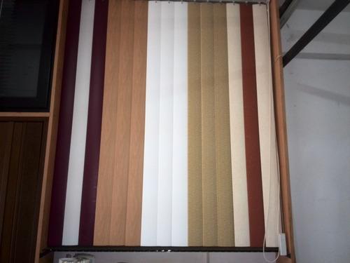 persiana pvc vertical a la medida varios colores y modelos