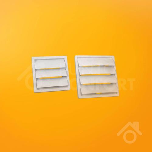 persiana rejilla movil para extractor de baño de 4 pulgadas
