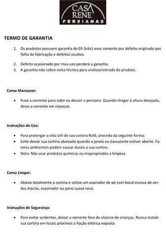 persiana rolô blackout/pronta p/ instalar+garantia 3 anos