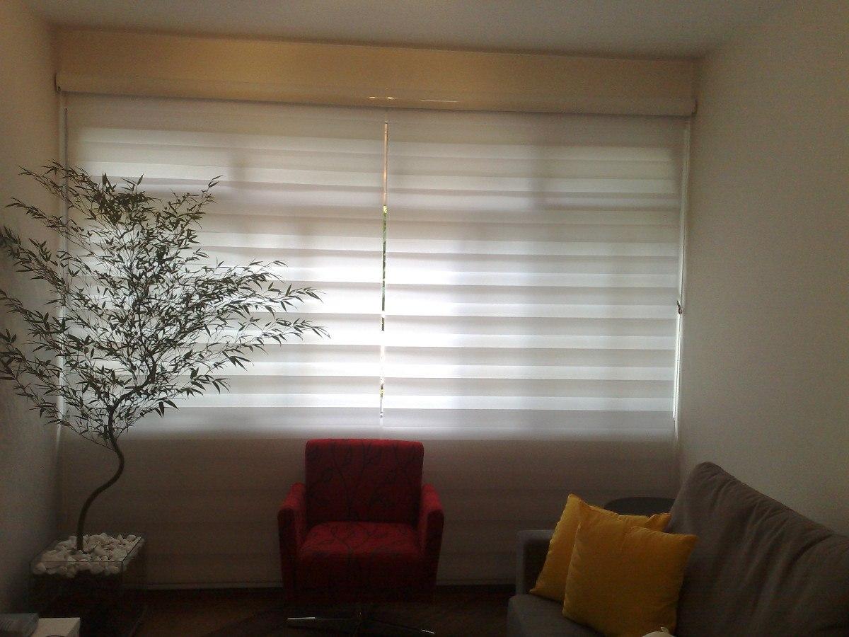 Persiana rolo double vision branca promo o r 180 00 em for Cortinas de persiana
