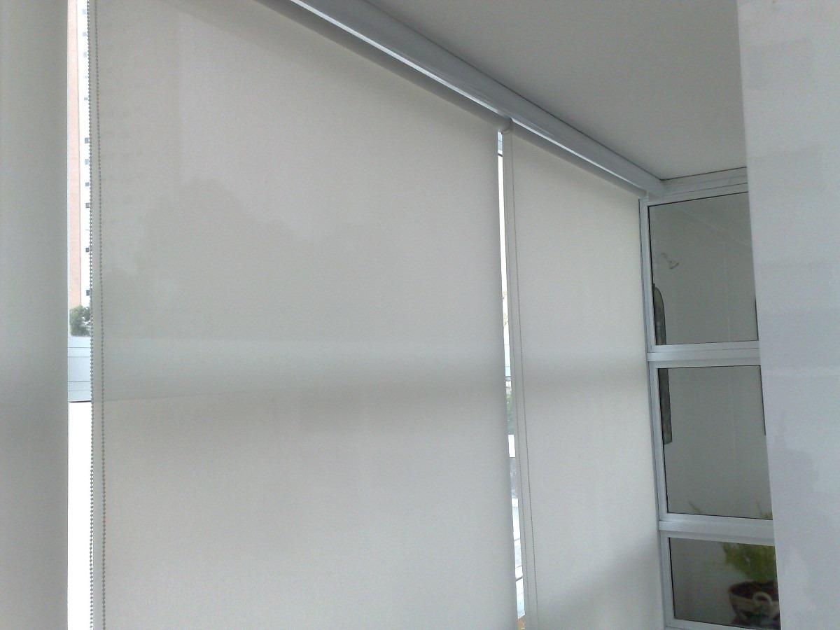 Persiana rolo tela solar screen cor cinza promo o r - Persianas de tela ...