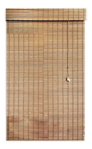 persiana scala romana de bambu con cenefa 100 x 170 goa goa