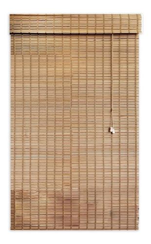 persiana scala romana de bambu con cenefa 120 x 170 goa goa