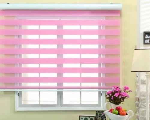 persiana sheer elegance gratis envío color rosa