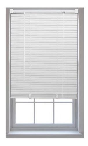 persiana veneciana americana lamas pvc para ventana 120x110