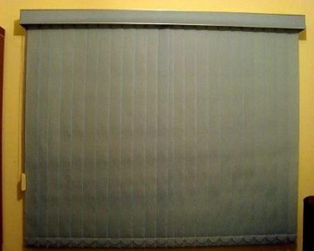 Persiana Vertical Tecido Polyester Valor Do Metro Quadrado R 39  ~ Persiana Para Cozinha Preço
