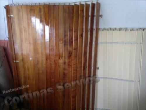 persianas / cortinas de enrollar pvc madera 24hs reparación