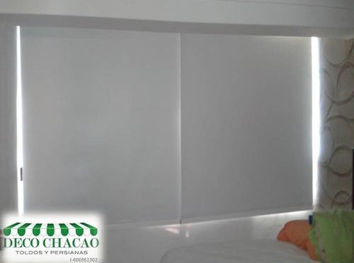 persianas enrollables con instalación en mun.  chacao
