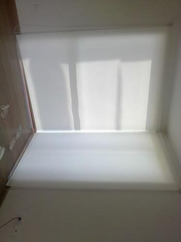 persianas enrollables tela traslucida $ 229 m2