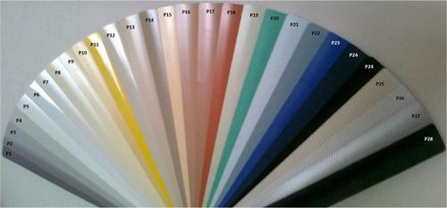 persianas horizontales aluminio a la medida lista p instalar