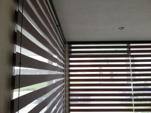 persianas sheer elegance $549 m2. envio e instalacion gratis