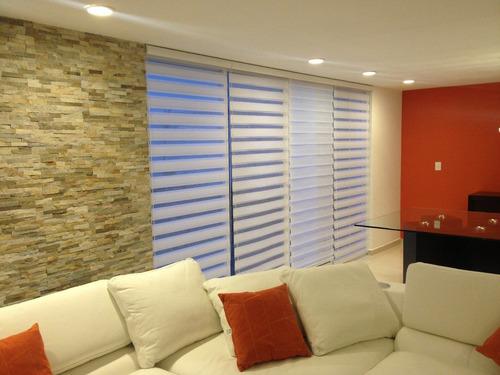persianas sheer elegance $579 m2. envio e instalacion gratis