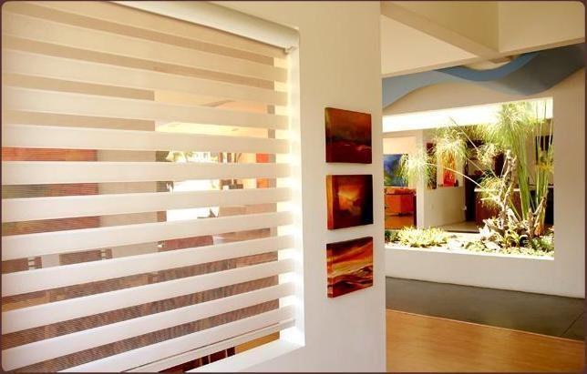 Persianas sheer elegance american blinds calidad elegancia for Persianas para cocina modernas