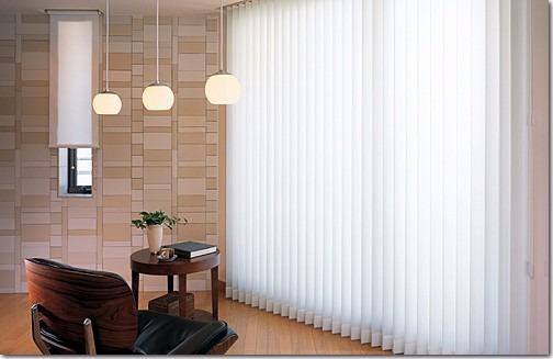 Persianas verticales de tela de calidad en - Cortinas tipo persiana ...