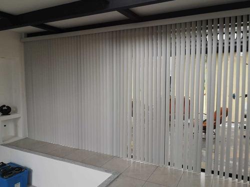 persianas verticales en pvc, cartago