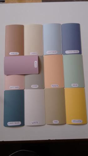 persianas verticales pvc $215 m2 13 colores super lindas vm