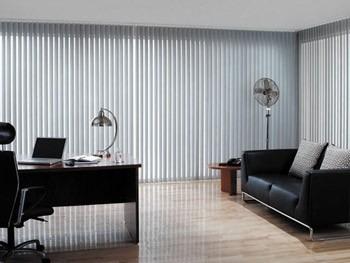 persianas verticales y puerta plegables en pvc