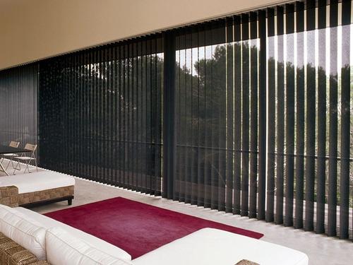 persianas verticales y puertas plegables en pvc