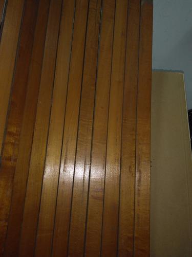 persianas y cortinas  de madera  usadas   en buen estado