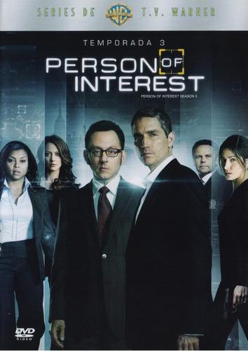 person of interest tercera temporada 3 tres dvd