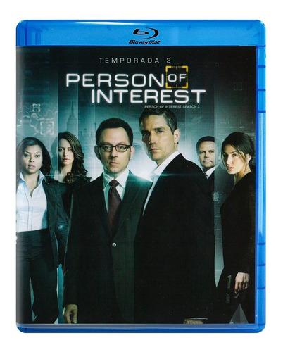person of interest vigilados tercera temporada 3 tres bluray