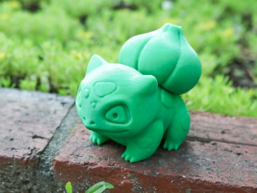 personagem action pokemon bulbassauro - 6cm de altura