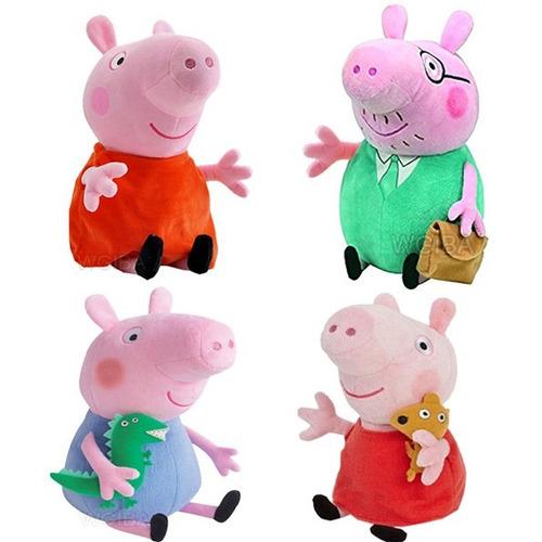 personagens pelucias peppa pig