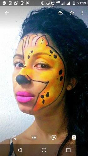 personagens vivos, pintura artística facial, recreação,