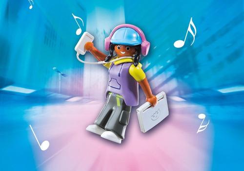 personaje chica multimedia tech 6828 - playmobil