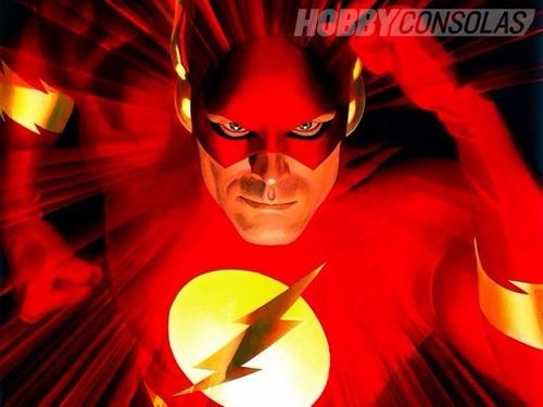personaje flash original mattel