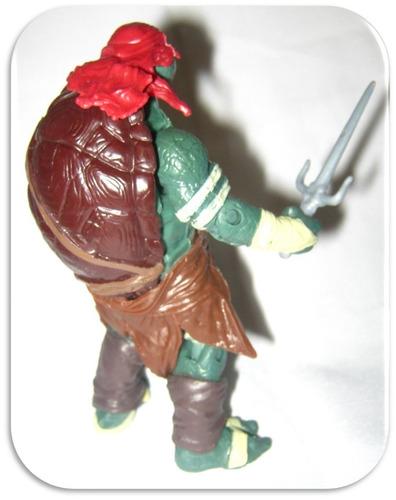 personaje raphael tortugas ninjas accesorios articulada