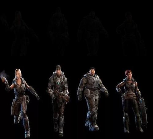 personajes de gears of war judgment, 3, 2.