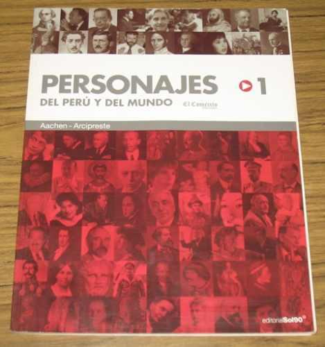 personajes del perú y mundo el comercio biografías tomo 1