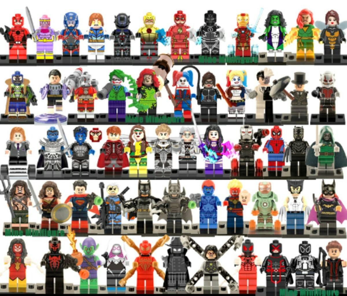 marvel lego personajes