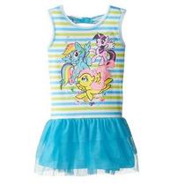 Vestido Niña My Little Pony Original Disney Talla 5 Algodon