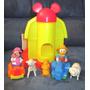 Granja De Minnie Y Donald C Carritos Y Animales Disney Arco