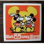 Souvenir Mickey Y Minnie, Vintage Año 60-70, Disney, Japonés