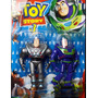 Buzz Lightyear Toy Story 3 Version Azul Plata Articulado