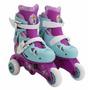 Patines Rollerskate Ajustables Frozen Niña